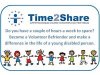 Help Wanted - offer support and Be friends with a child local to you