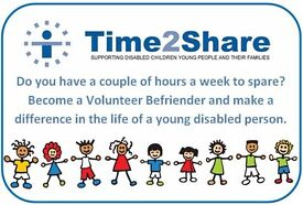 Befriend a child / young person - Befrienders needed