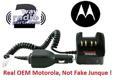 Real Motorola Travel Charger Apx2000 Apx3000 Apx4000 Li Xpr 6550 6580 Nntn8525a