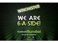Winchester 6-a-side Teams Needed!