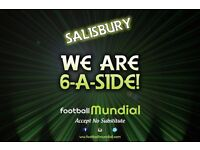 Salisbury 6-a-side Teams Needed!