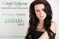 ⭐️HAIR EXTENSIONS TRAINING ⭐️ CERTIFIED