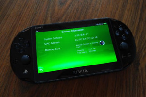 Sony PS Vita slim 3.60 Henkaku Open to Trad