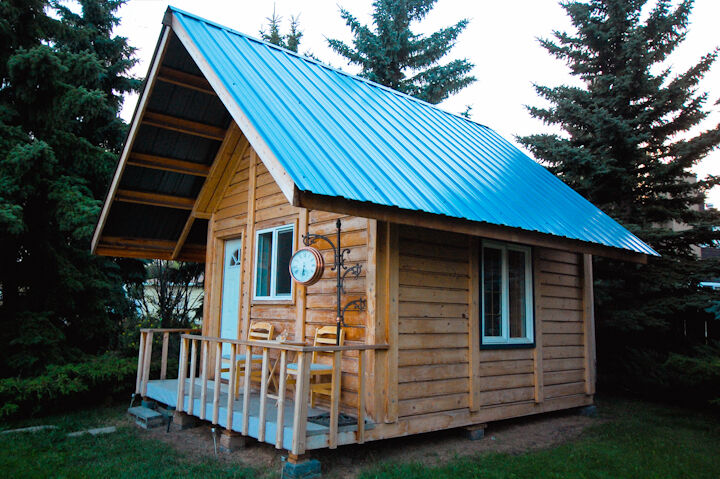 Have Your Cabin Pre Built In A Kit Other Edmonton
