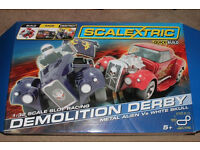 Scalectrix - demolition derby