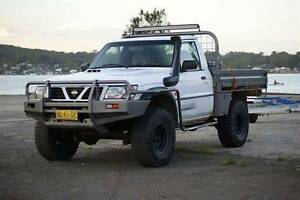2001 Nissan Patrol td42t intercooled coilcab ute Newcastle Newcastle Area Preview