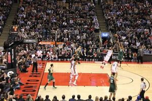 TORONTO RAPTORS PLATINUM CLUB TICKETS