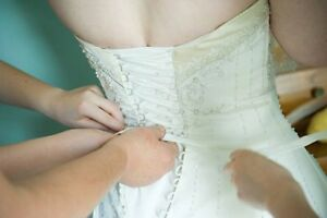Beautiful A-Line Wedding Dress Cambridge Kitchener Area image 2