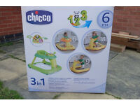 3in1 chicco baby walker