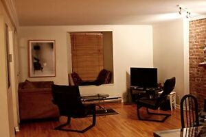 Sublet 2 Bedroom, Fully-furnished in McGill Ghetto: Jul-Aug