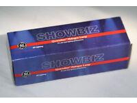 5 x Showbiz GKV/LL 88445 240V/600W G-9.5 Lamps (BNIB)