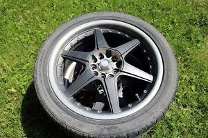 4 tires and rims, Nexen tires 215/45ZR17. Pick up in Madoc no tr
