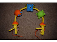 Chicco Dancing Animals Musical Stroller Toy