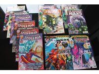 24 x Marvel/DC Comic Books