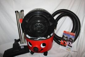 Boxed Numatic Red Henry HVR200 Hoover. Comes with tools and accessories. As new.
