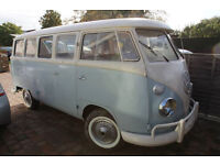 1970 LHD Split project sell or swap for beetle of same value £8,950