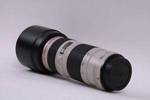 Canon EF 70-200mm f/4L USM lentille professionelle de serie L (L