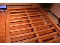 Wooden Bed Frame Double/King Size Bed. Collection ASAP.