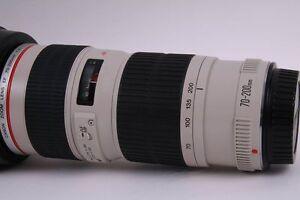 Canon EF 70-200mm f/4L USM lentille professionelle de serie L Saint-Hyacinthe Québec image 3