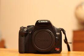 Canon Rebel XSi (450D) + 18-55mm lens
