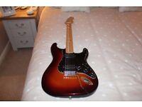 2010 Fender FSR Standard Stratocaster HH Maple Neck Metallic Sunburst