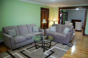 Furnished 3 bedroom executive apartment located Downtown