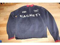 Boys Hackett Aston Martin jumper navy
