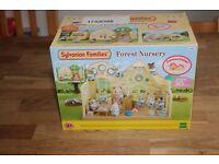 Sylvanian families forest nursery brand new