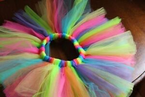 Birthday Rainbow Tutu