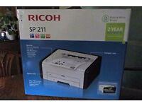 Ricoh SP211 Laser Printer - Brand New - Sealed Box - 2yr Warranty