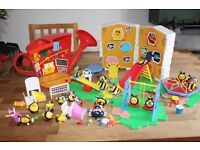 Disney the hive play sets and figures