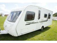2010 Swift Challenger 580 4 Berth Caravan Fixed Island Bed