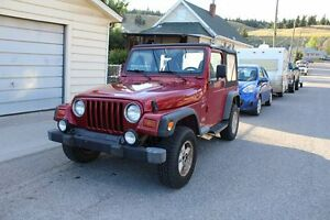1999 Jeep TJ Sport Automatic 4.0L