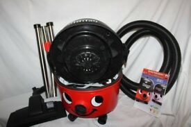 Numatic Red Henry Hoover HVR200 with tools and accessories. As new.