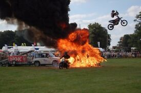 Stunt shows, car stunts, motorcycle display team, fire stunts and much much more...