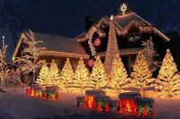 CHRISTMAS LIGHTS INSTALLATION*FREE QUOTES*XMAS*l