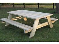 8' King Size Benches