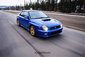 2000 Subaru Impreza WRX STi Sedan