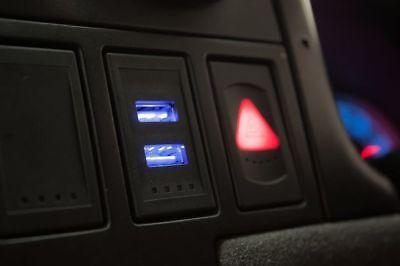 VW T4 Transporter Golf Passat Genuine OEM Style USB Charger Dash Blank Switch