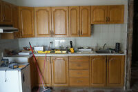 Classic 70's kitchen cabinets