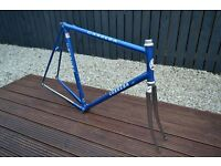 58cm Carrera Podium Italian road bike frame Columbus steel