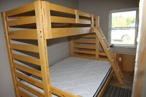 Twin over Queen bunk bed Kawartha Lakes Peterborough Area image 1