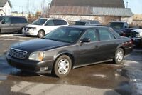 2002 Cadillac DeVille AFFORDABLE LUXURY- LEATHER-one owner