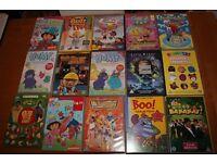 Children's DVD'S 50p each
