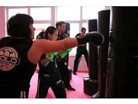 Adults Hyper Fight Kickboxing classess