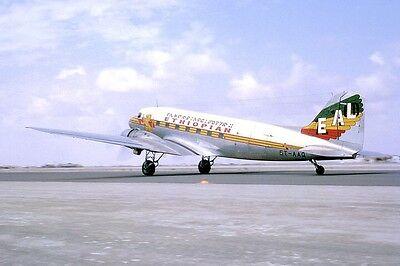 Douglas DC3 Dakota aircraft - Ethiopian Airlines  6 x 4 Print