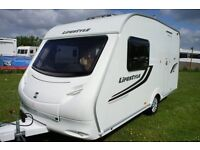 2013 Sprite Lifestyle 400 2 Berth Caravan End Washroom