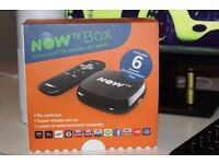 Now TV Box with 6 month free pass