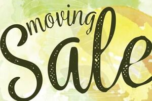 GLEBE MOVING SALE - SATURDAY JULY 28