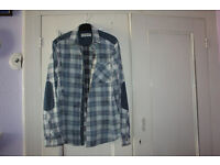 MENS RIVER ISLAND CASUAL SHIRTS,SIZE MED.